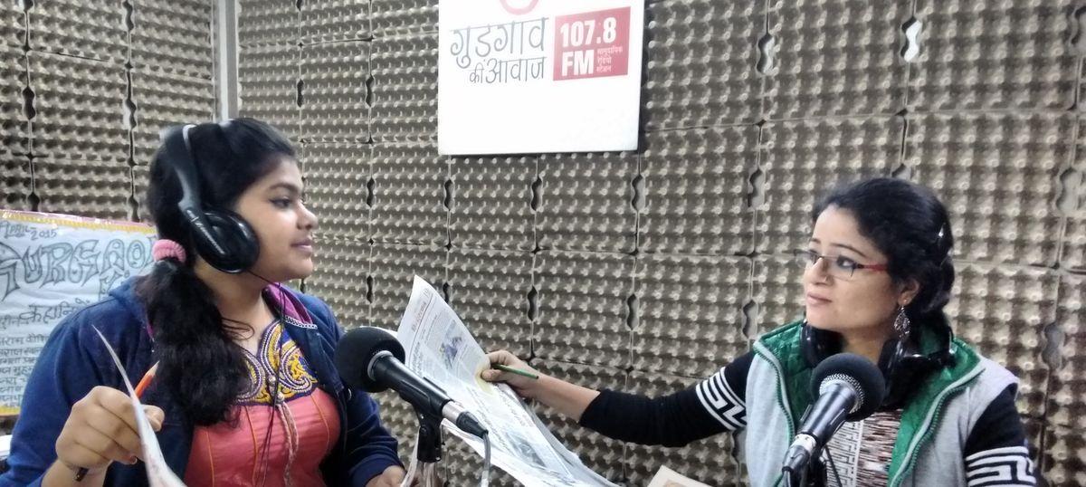 Gurgaon Ki Awaaz shows the powerful potential of community radio stations in India