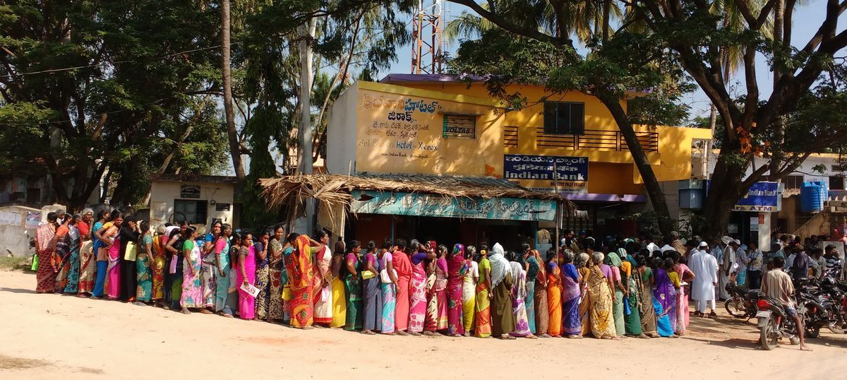 Demonetisation effect: Bank withdrawals far outstrip deposits in one Andhra Pradesh district
