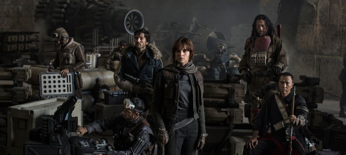 Film review: 'Rogue One' is a 'Star Wars' story we could do without