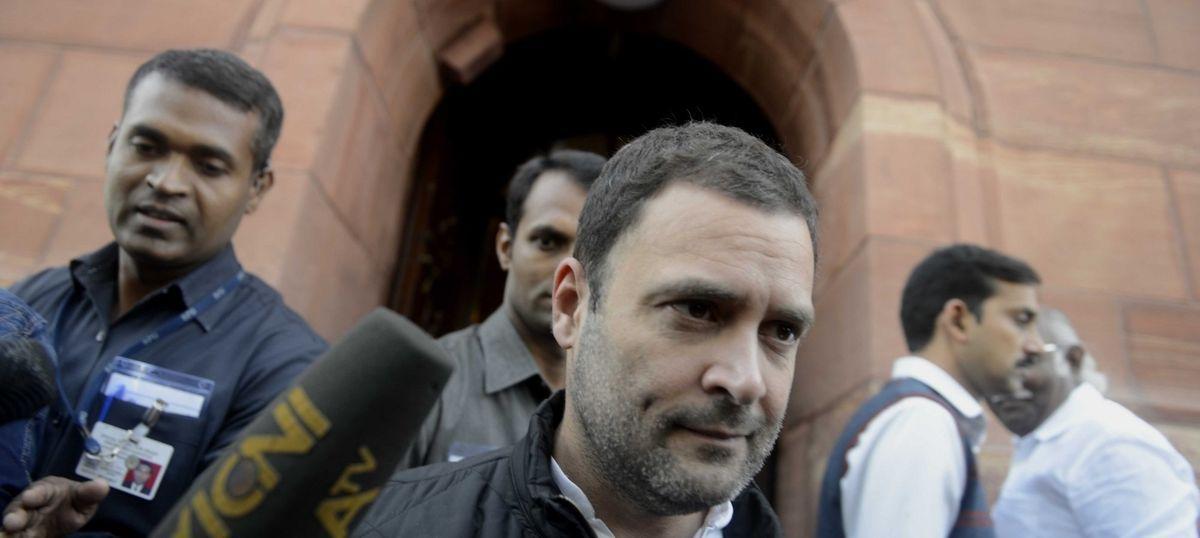 Chennai: Rahul Gandhi visits DMK chief M Karunanidhi in hospital