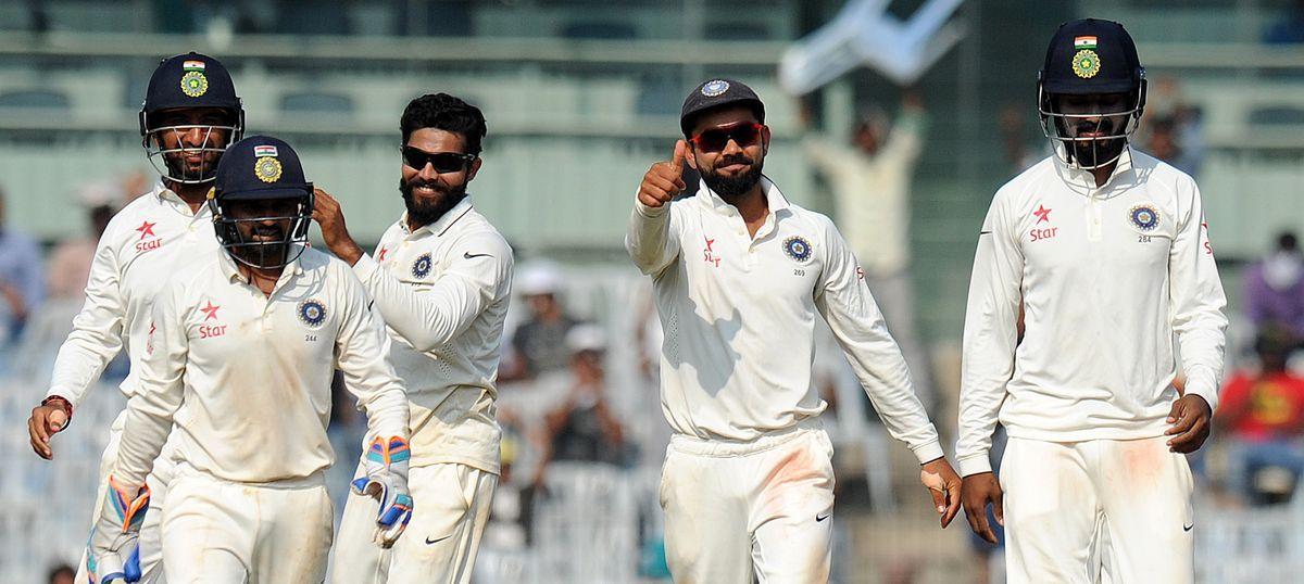 Ravindra Jadeja's career-best 7/48 takes India to crushing 4-0 series win