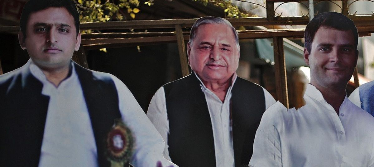 A rock and a hard place: Congress leaders divided on tying up with Samajwadi Party in UP