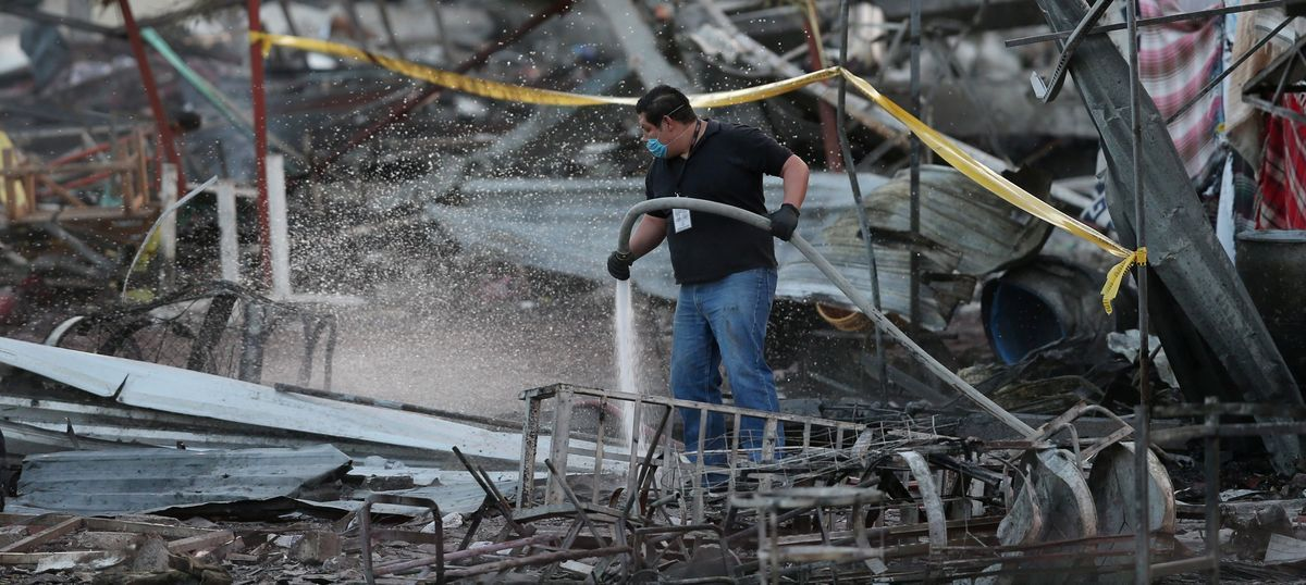 Mexico: Explosion at fireworks market leaves 29 dead, several injured