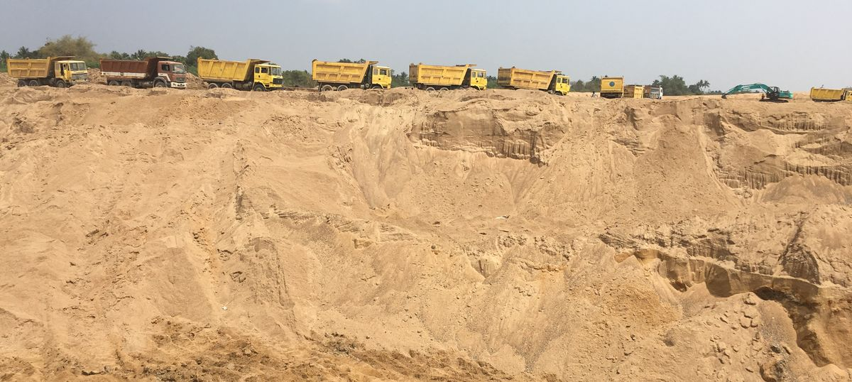 The lid on illegal sand mining in TN might finally be lifted (but perhaps for the wrong reasons)