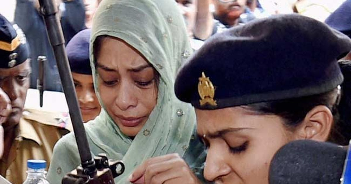 Indrani Mukerjea out of jail for a day to perform her father's last rites in Mumbai