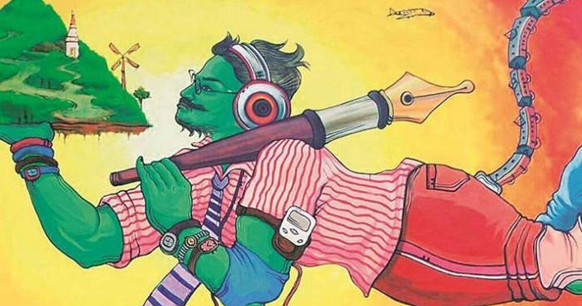 'Mockery of religious beliefs': Shiv Sena forces IIT-B to remove Hanuman painting