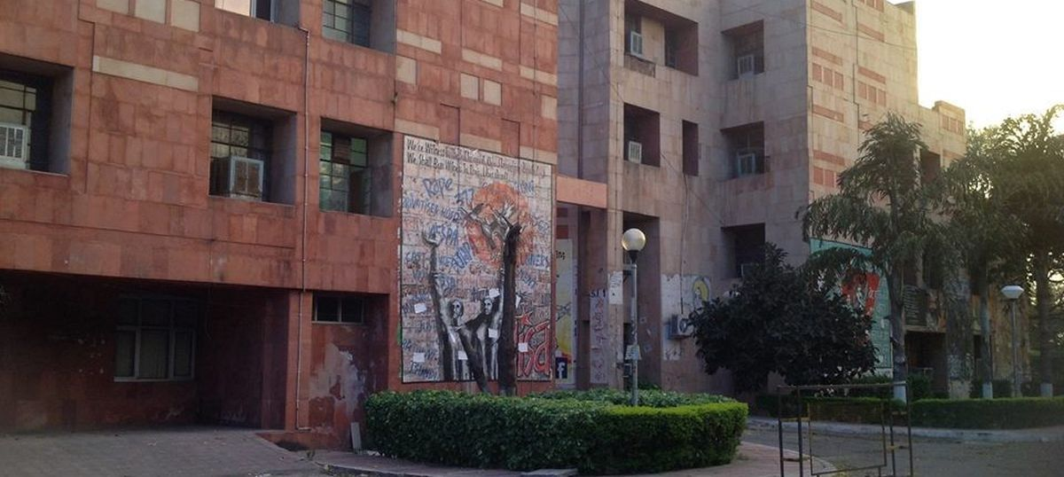 JNU suspends eight students for disrupting meeting while protesting against caste discrimination