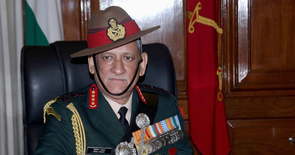 India is prepared for a two-front war, says Army Chief General Bipin Rawat