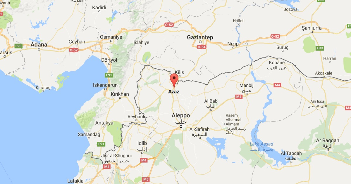 Syria: At least 43 people killed in car bomb explosion in town near Turkish border
