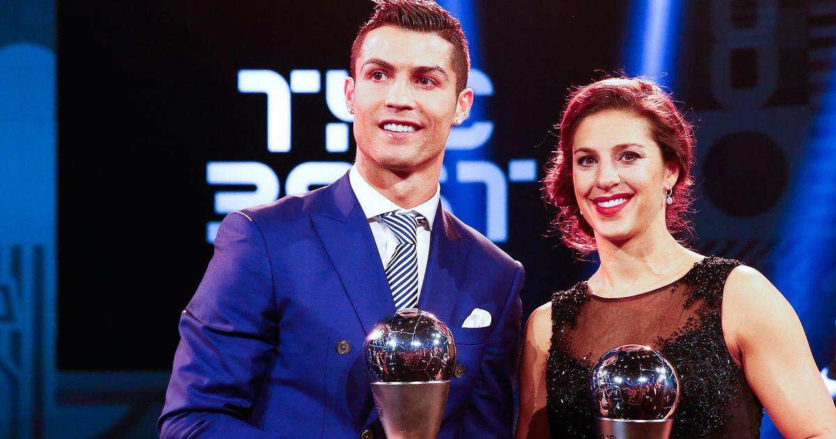 Football: Cristiano Ronaldo wins Best FIFA Men's Player award