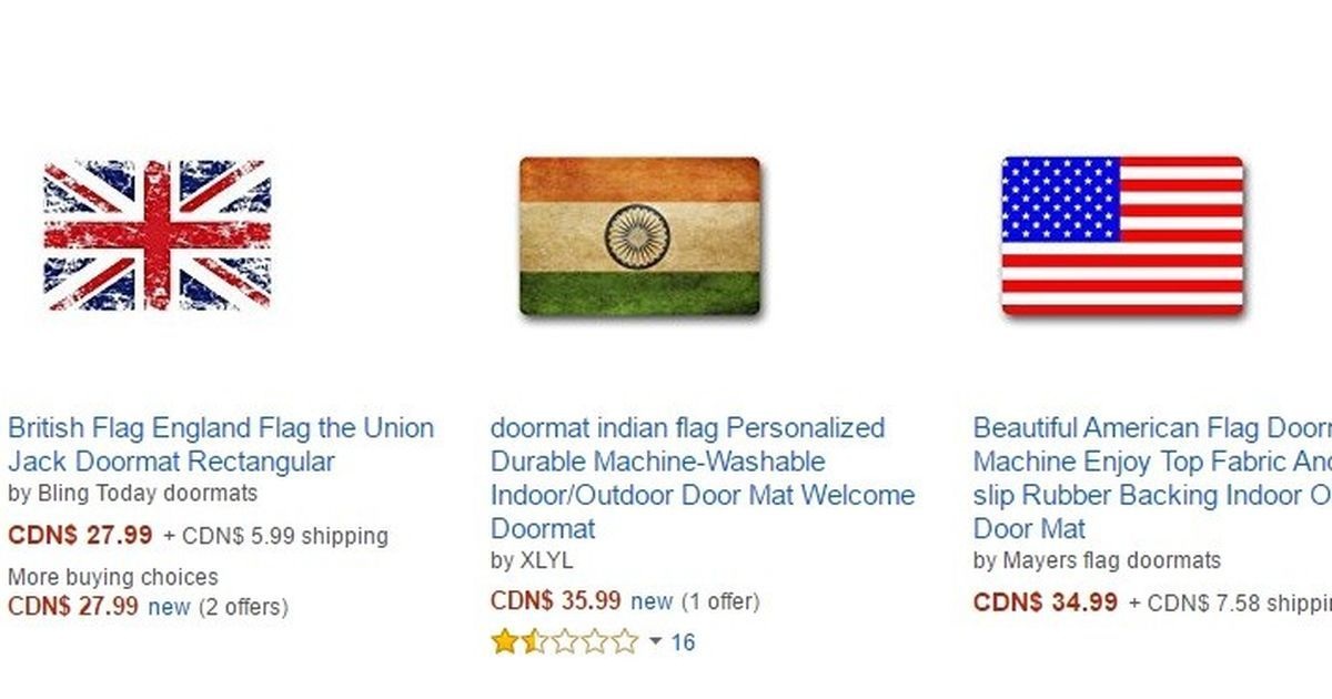 Amazon Canada must take down all products insulting Indian national flag, demands Sushma Swaraj
