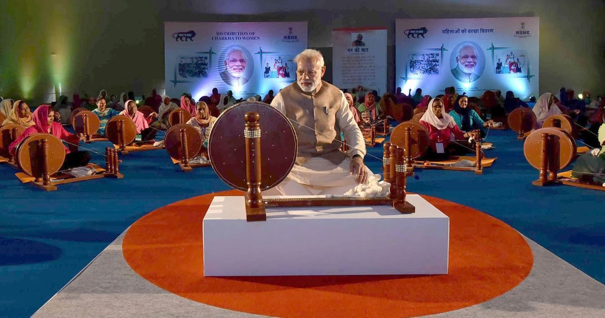 Khadi controversy: BJP is against the ideologies of Gandhi and Nehru, says Opposition