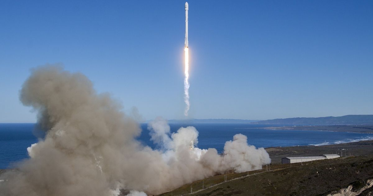 SpaceX launches Falcon9, its first vessel since September 2016 launchpad mishap