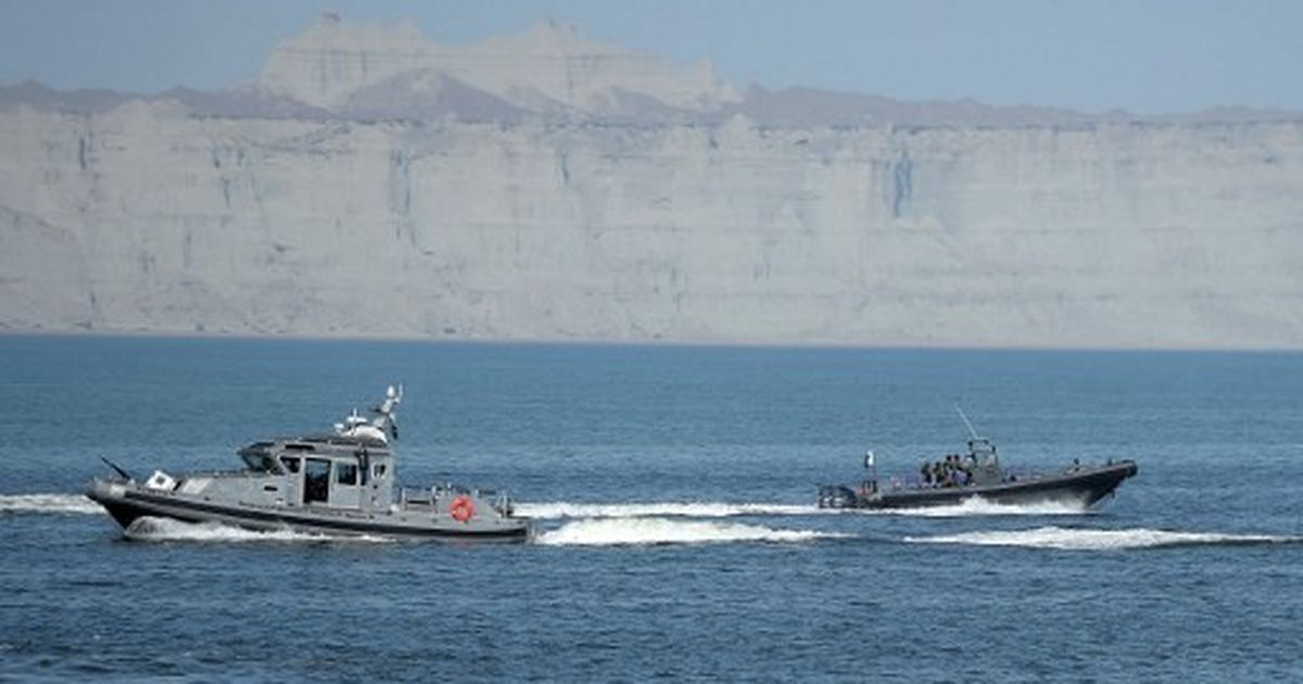 China gives Pakistan two patrol ships to help secure their economic corridor and Gwadar port