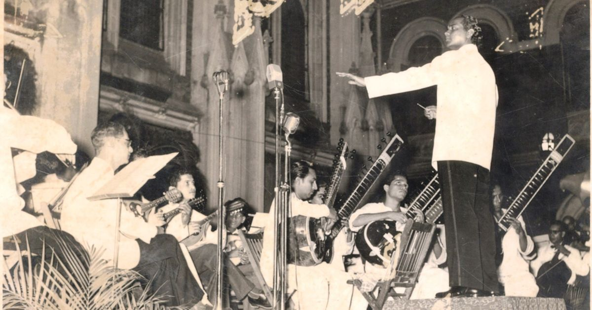 From Hindi film music to raga-based symphonies, the remarkable journey of Anthony Gonsalves