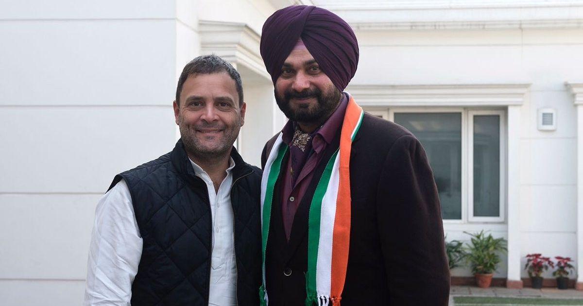 This is my ghar wapsi: Navjot Singh Sidhu on joining Congress