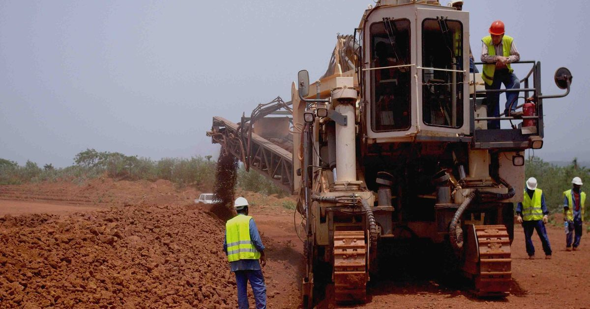 The African towns falling into decline and poverty after mining companies use resources then exit