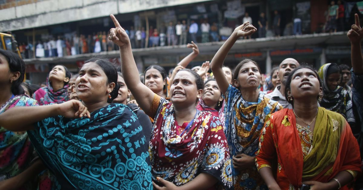 5,000 sacked for demanding higher wages: The human cost of Bangladesh's $27-billion garment industry