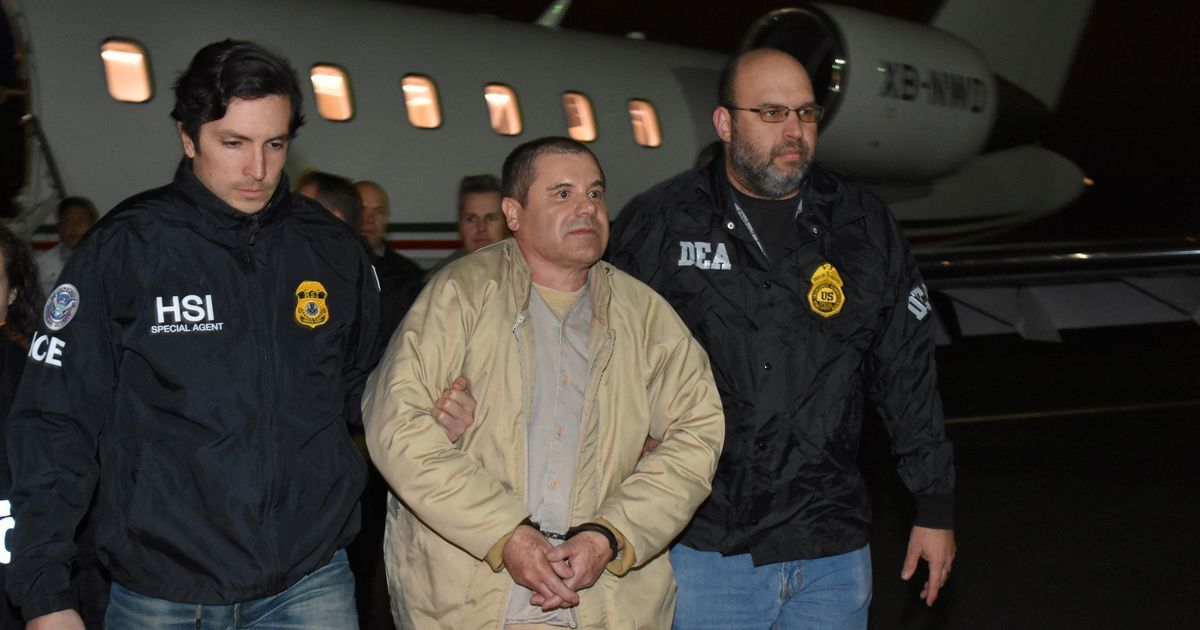 Drug lord 'El Chapo' pleads not guilty to charges of conspiracy, money laundering in US court