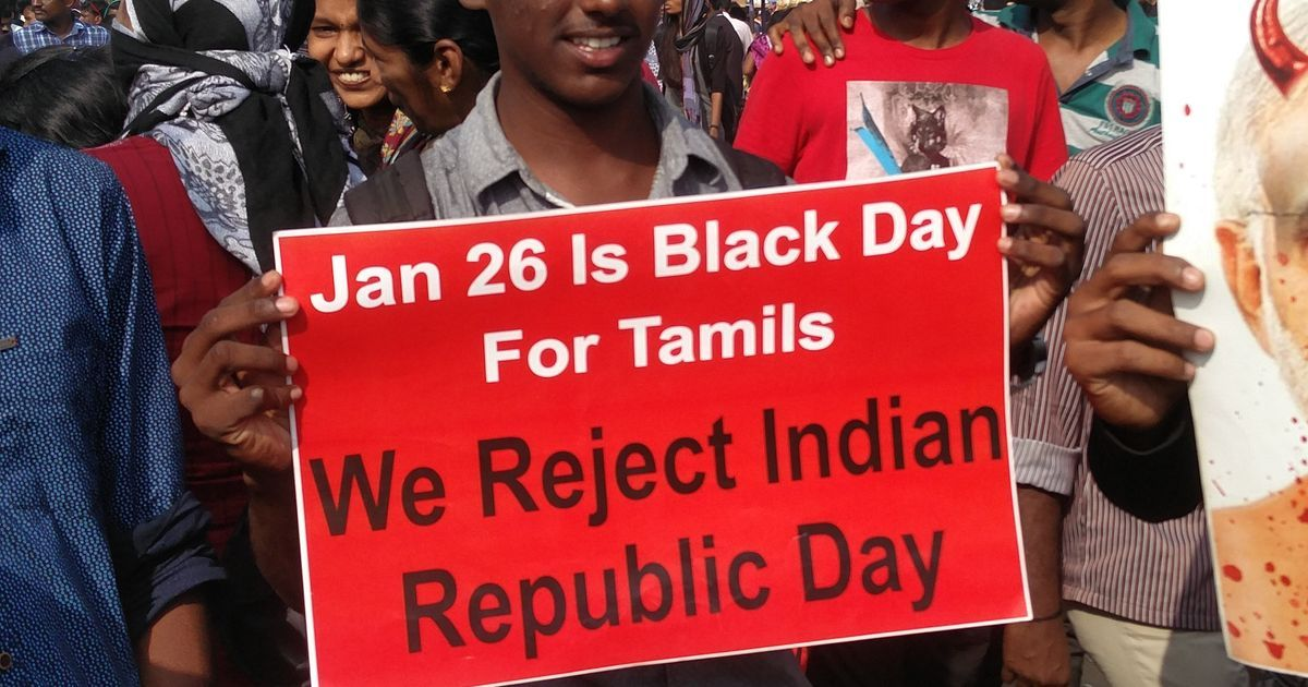 On the fringes of jallikattu protests, Tamil nationalism attempts to emerge