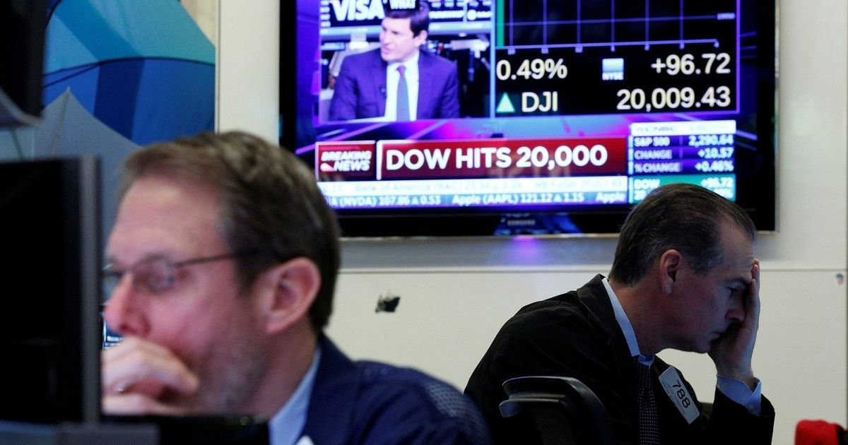 Why Wall Street's Dow Jones crossing the 20,000 mark is totally meaningless