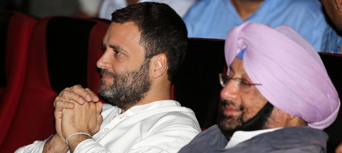 Amarinder Singh is the Congress' chief ministerial candidate in Punjab