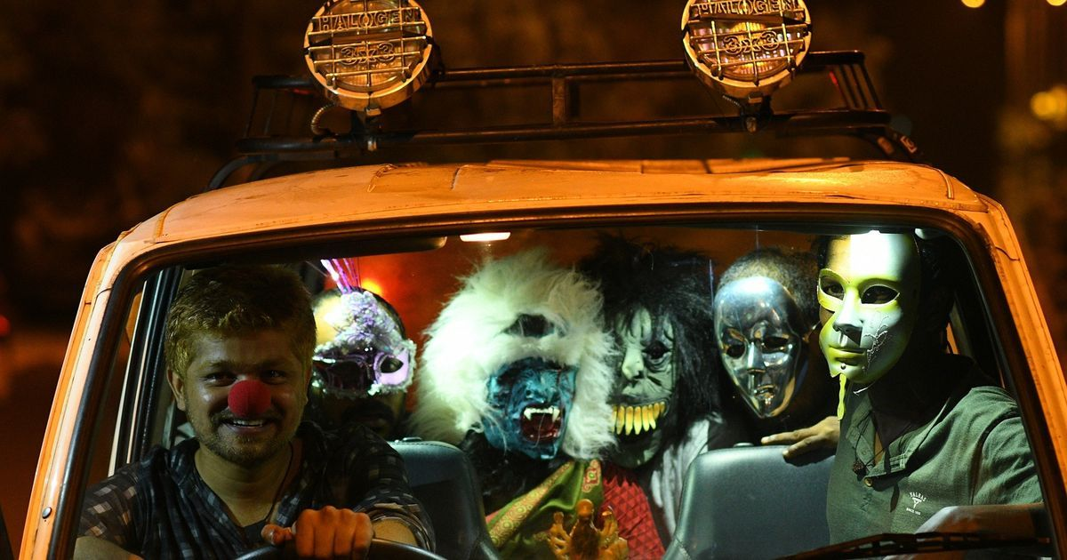 In 'Sexy Durga', a man and a woman try to hitch a ride at night in a Kerala town. Bad idea