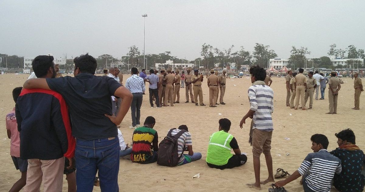 Chennai: Section 144 imposed in Marina Beach and Foreshore Estate area till February 12