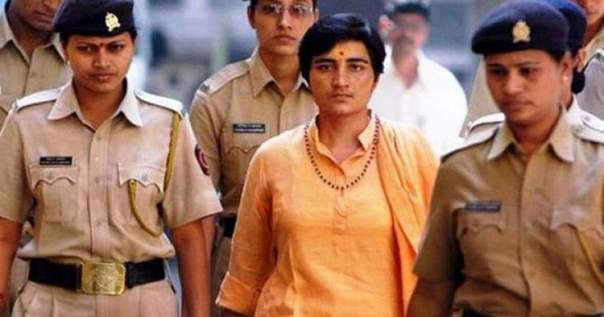 Sadhvi Pragya acquitted of all charges in murder of right-wing activist Sunil Joshi in 2007