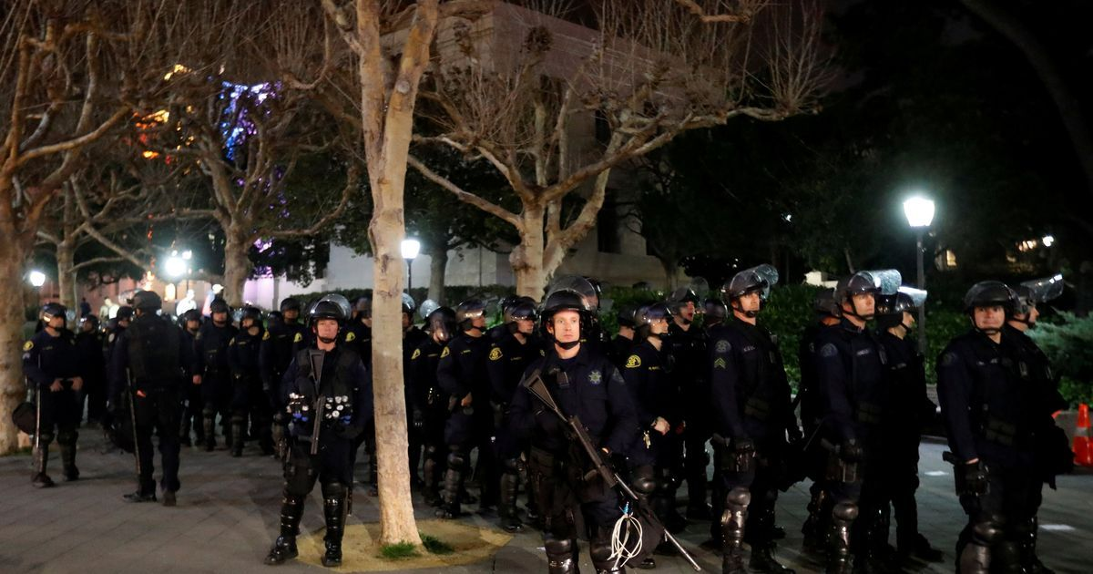 Donald Trump threatens UC Berkeley with fund cuts after protests against far-right speaker