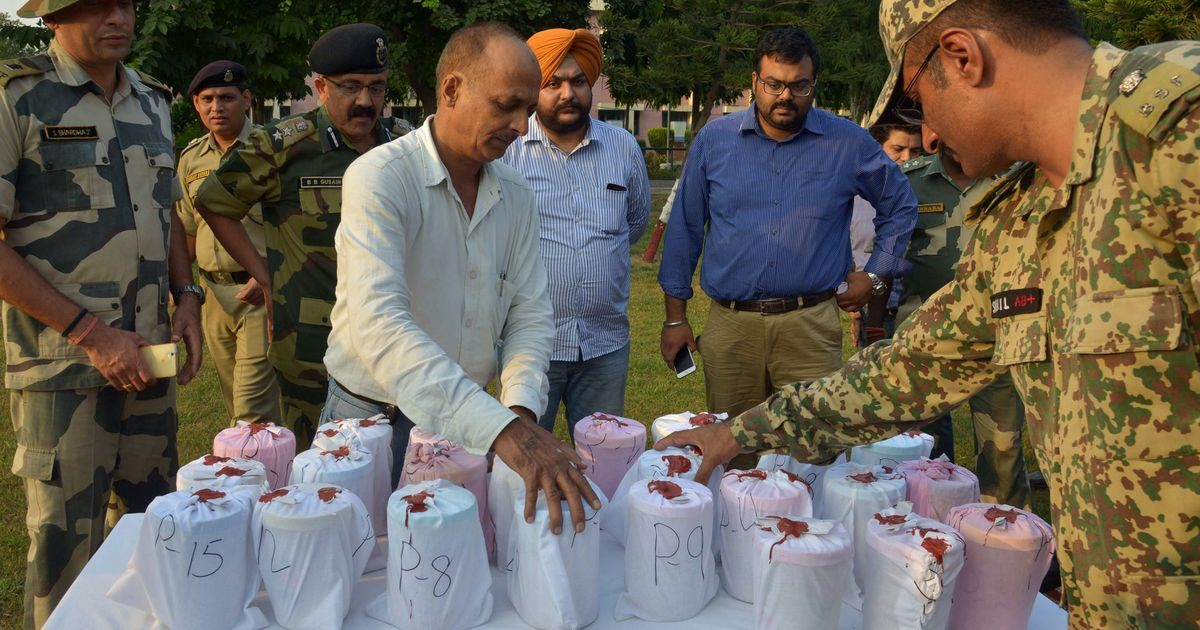2,600 kgs of drugs worth Rs 18 crore seized during Punjab polls, says Election Commission