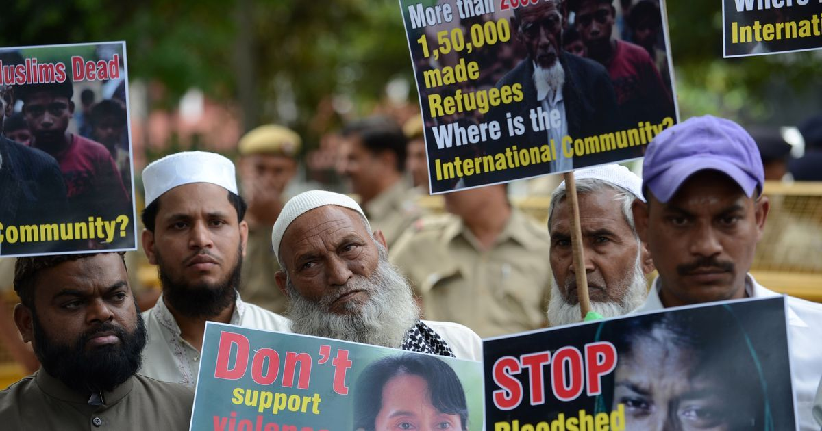 Posters come up in Jammu asking Rohingya Muslims and Bangladeshis to leave