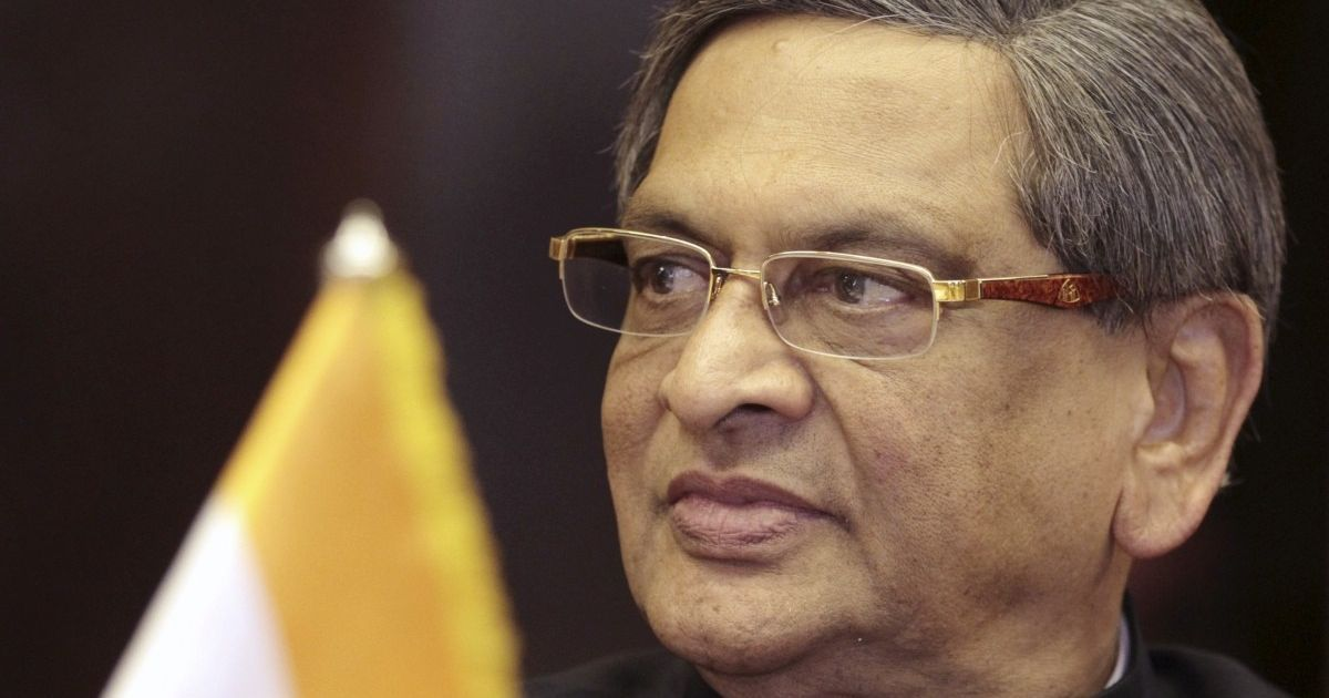 As SM Krishna keeps everyone guessing about his next move, will the BJP's age rule scare him off?