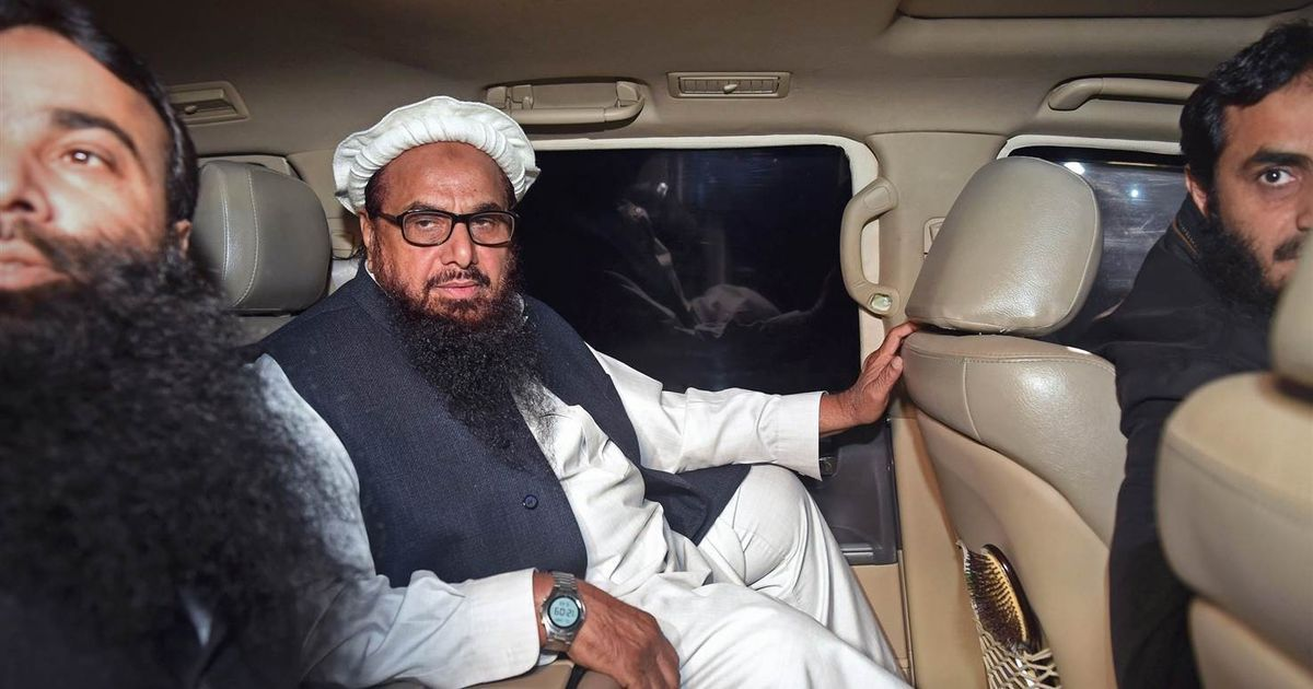 There's not much reason for India to cheer in Hafiz Saeed being put under house arrest in Pakistan