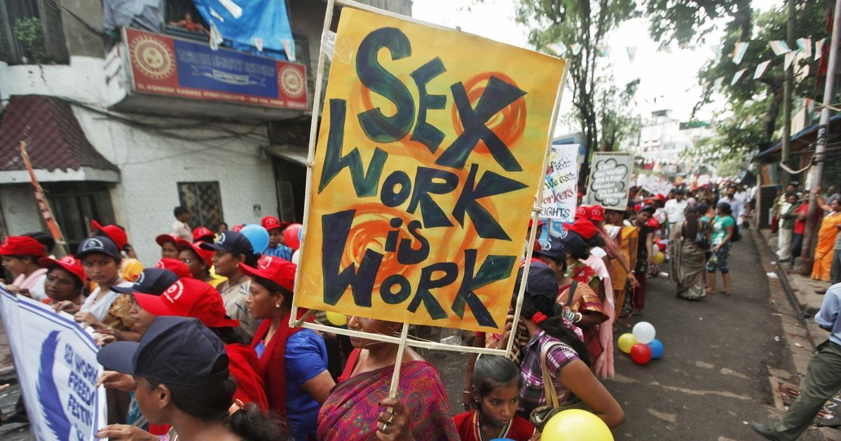 Yes, sexual exploitation and slavery exist. But they are not the same as sex work