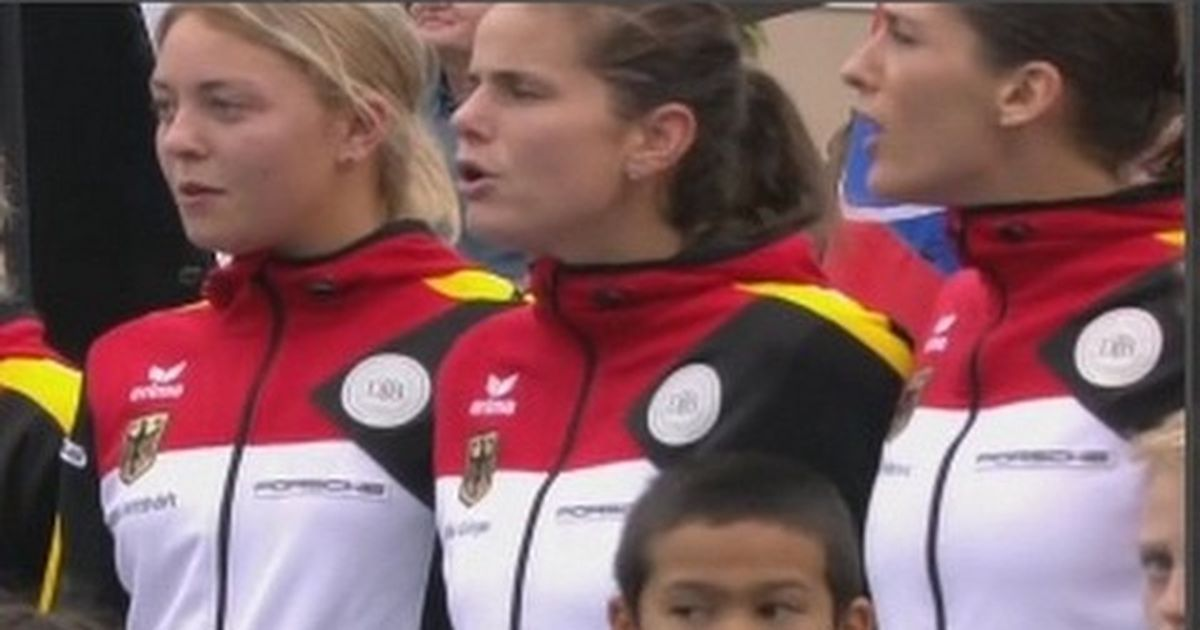 Watch: Germany was furious after US played Nazi-era national anthem at Fed Cup in Hawaii