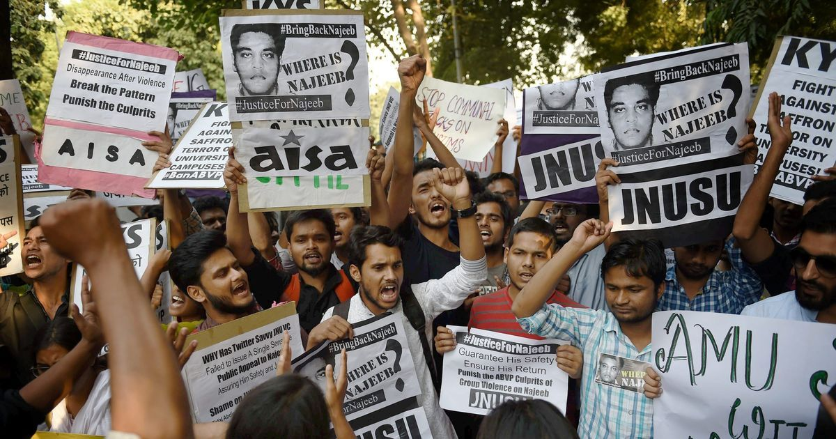 Missing JNU student case: Delhi High Court 'foxed by lack of information' four months later