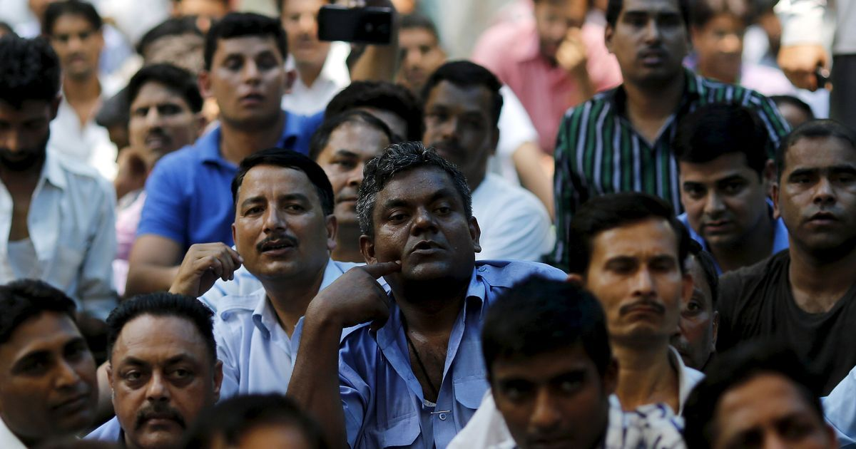 With few formal unions, Ola and Uber drivers draw on informal networks to enforce strike in Delhi