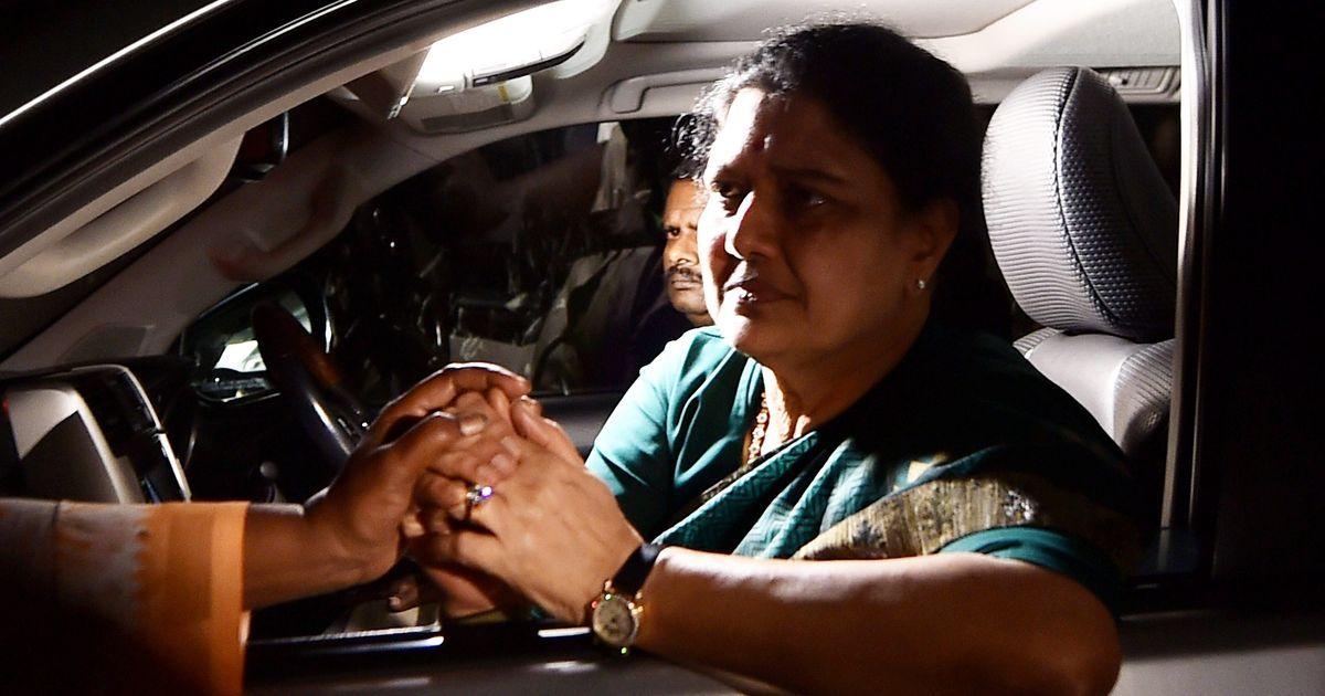 VK Sasikala reaches Bengaluru's Parappana Agrahara jail to surrender