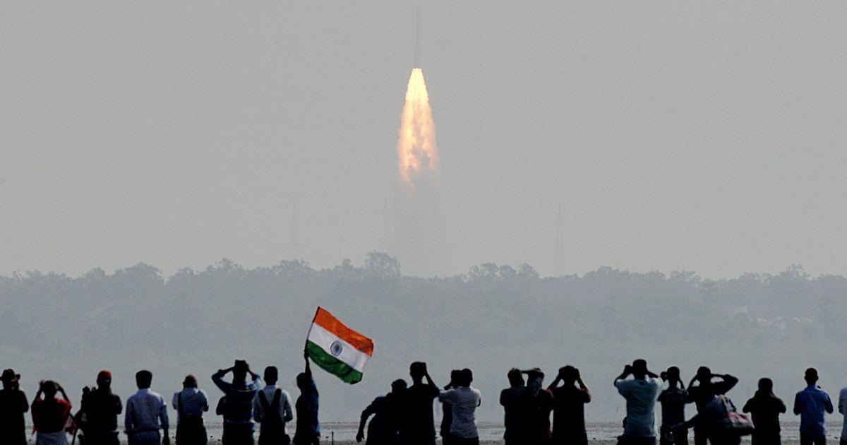 ISRO's world record applauded on Twitter: 'Made century like Virat Kohli style'