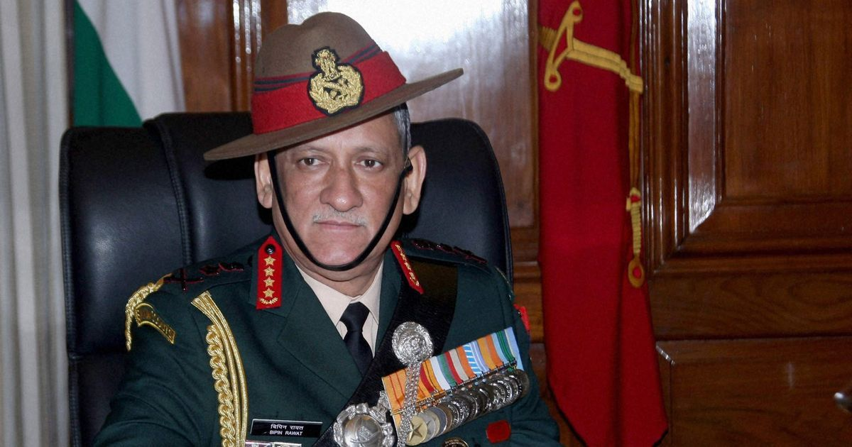 Local people are helping militants escape in Kashmir, says Army chief