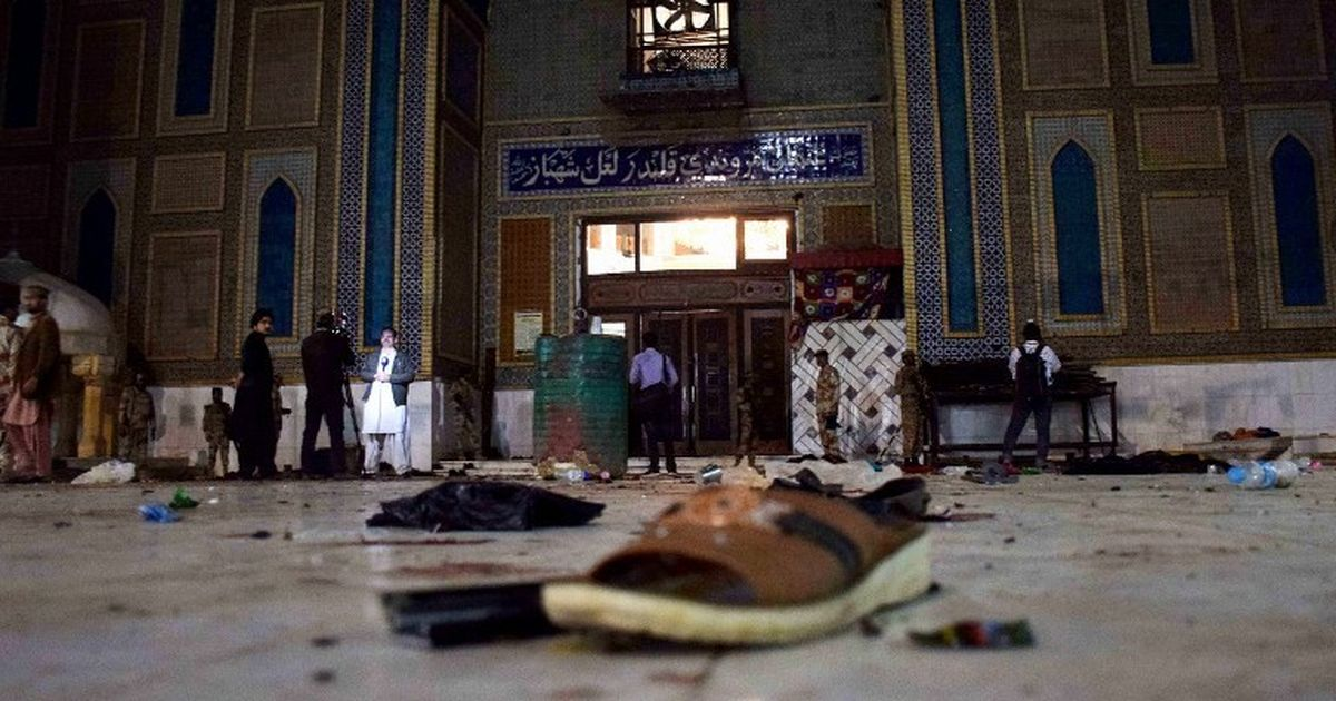 Pakistan: More than 70 people dead in blast at Sindh's Lal Shahbaz shrine