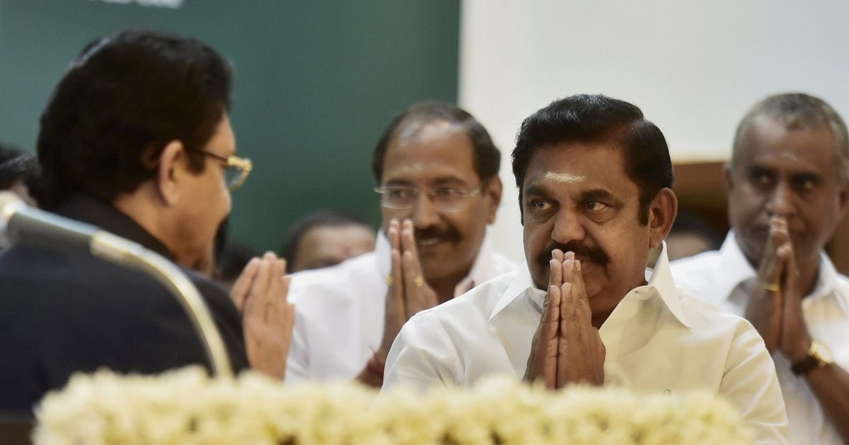 Tamil Nadu: Saturday's trust vote in the Assembly could go down to the wire for AIADMK