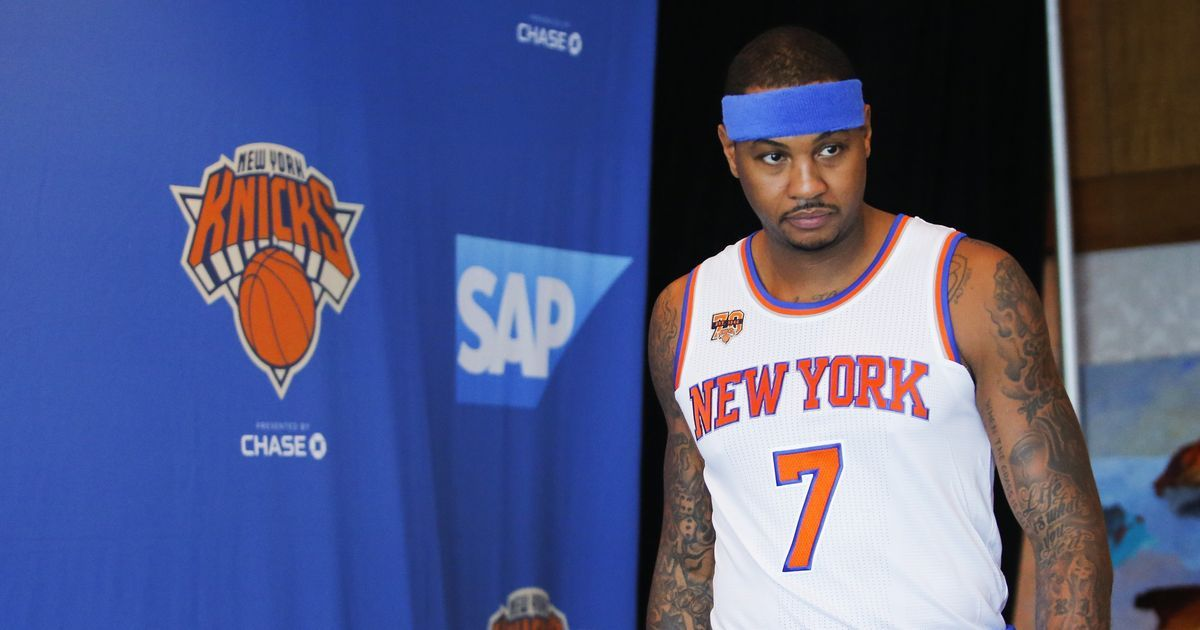 Is Carmelo Anthony's legacy in jeopardy if he does not win an NBA Championship?