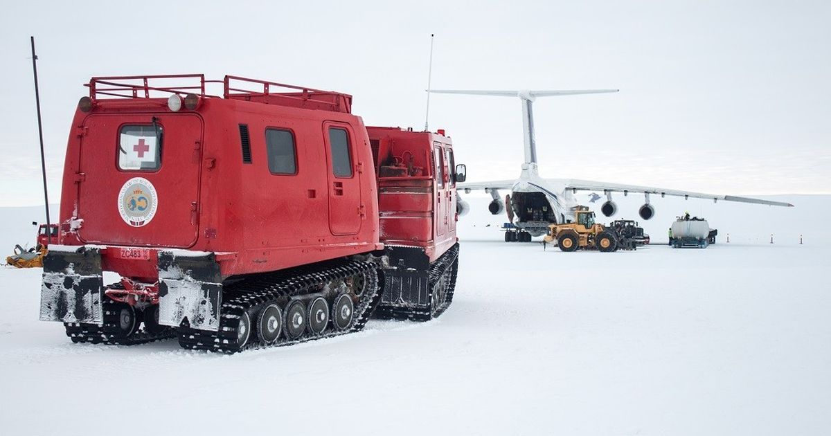 An Indian scientist is studying the South Pole from the North Pole