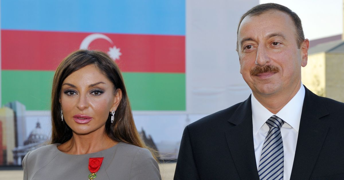 Azerbaijan president picks his wife as his vice president