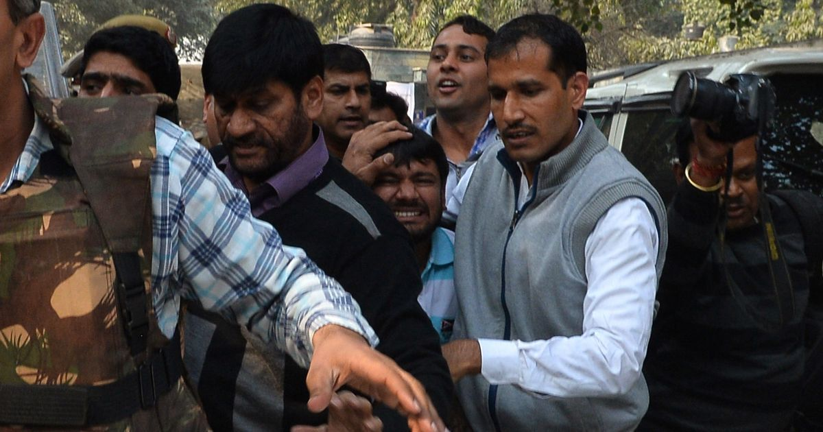 In court complex where Kanhaiya Kumar was attacked, police say they can now tackle any situation