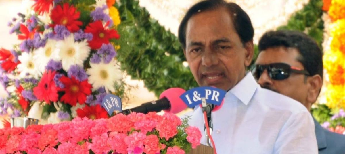 Telangana chief minister to offer gold moustache at temple amid allegations of public funds misuse