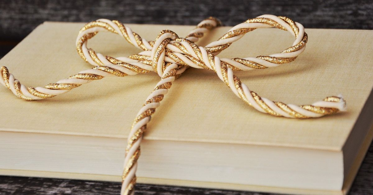 If a writer gifts a book, it must be really worth reading, right (even if it's their own)?