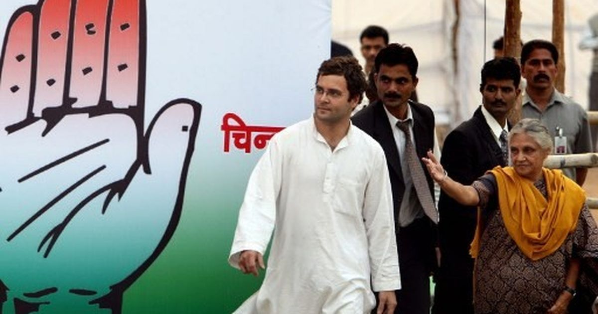 'Don't twist my words': Sheila Dixit clarifies her comments on Rahul Gandhi's lack of maturity